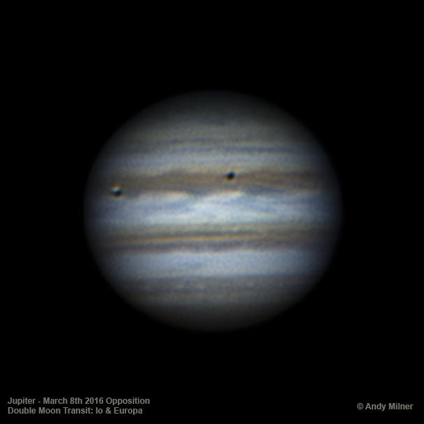 Jupiter March 8th Double Transit