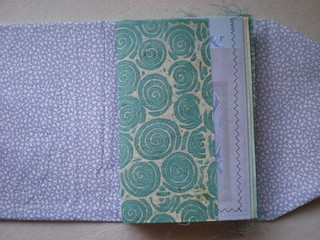 ROD - Shabby Scrap Blue Journal