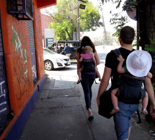 2016 - Chile - Santiago - Around Town Family Walking | by SeeJulesTravel