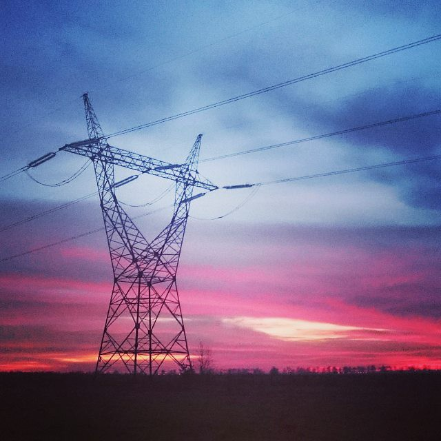 Electric sunset. © t.t.a.b...