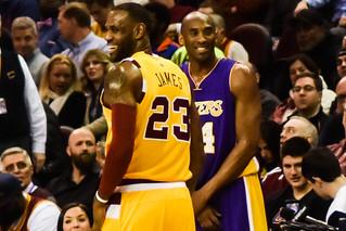 LeBron James vs. Kobe Bryant   by EDrost88