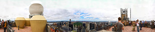 Panorama from the top of Rockefeller Centre, NYC | by Anatoleya