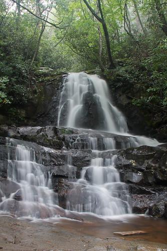 longexposure vacation nationalpark hike smokymountains greatsmokymountainsnationalpark laurelfalls