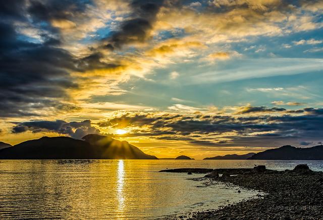 Sunset, Brunswick Beach