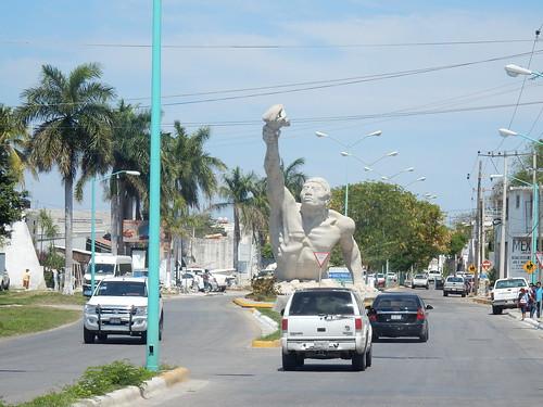 Onderweg naar Campeche - enorm beeld