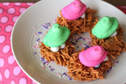 Peeps Butterscotch Nests | by niftyfoodie