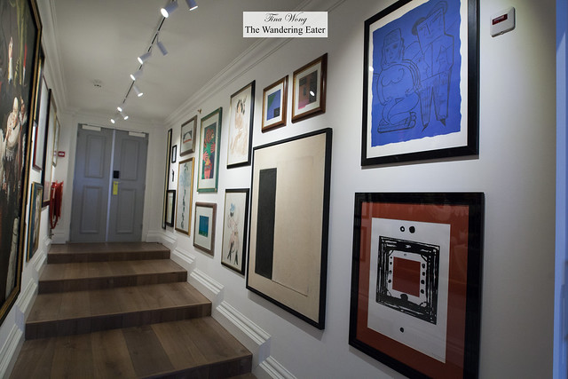 Foyer of Art Collector's Suite