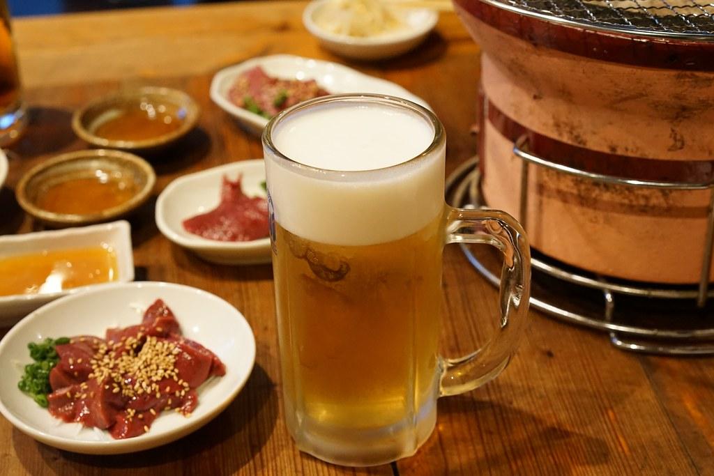 肉人(にくんちゅ)_ビール