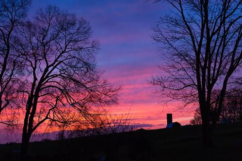 maryvilletn farm sunset sky tennessee