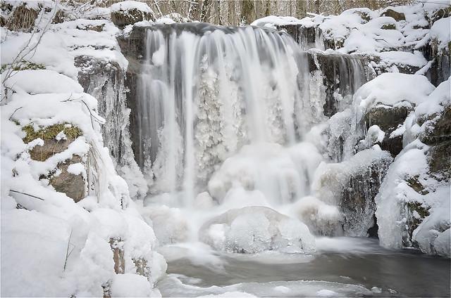 Silverfallen vinter