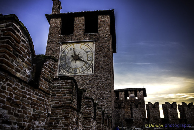 Mysterious medieval atmosphere in the Castle