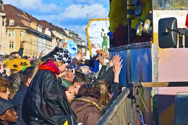 Basel's Carnival Basler Fasnacht 2014,. No.0026.