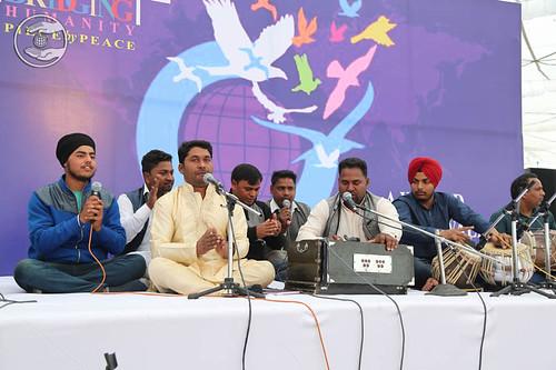 Devotional song by Ashwini and Saathi
