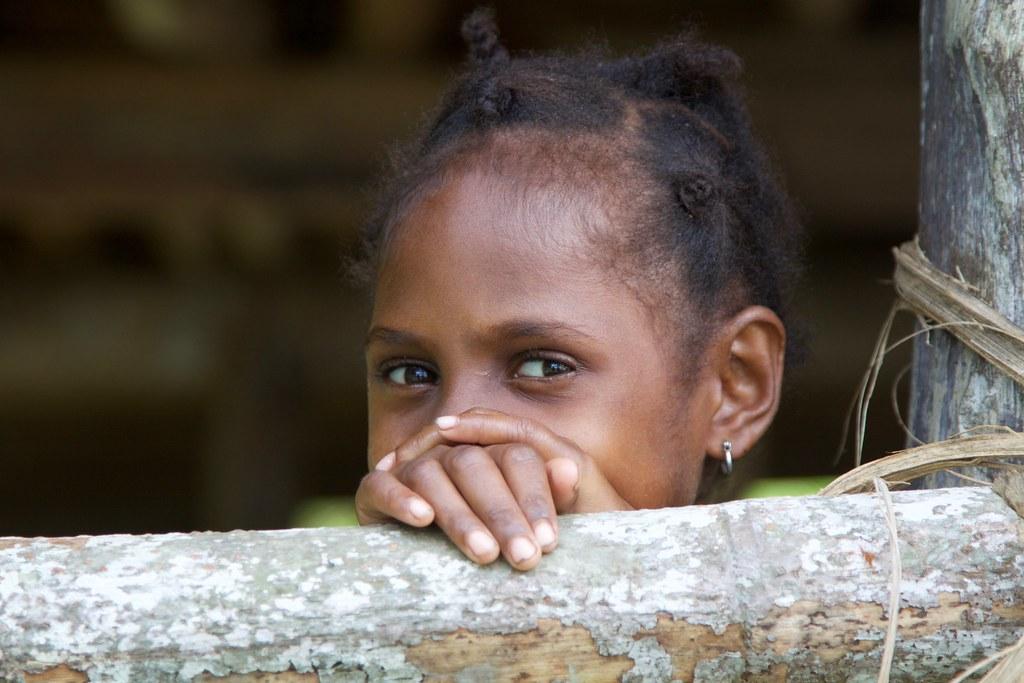 Enfant / Village de Wagu