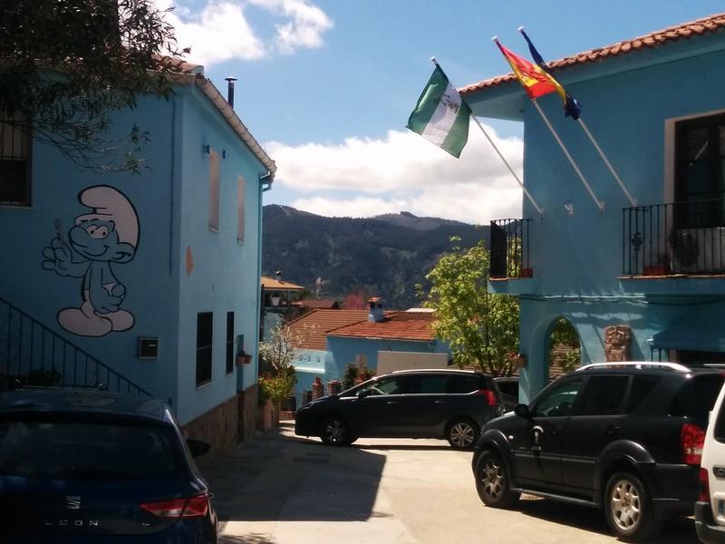 Juzcar - The Smurf Village
