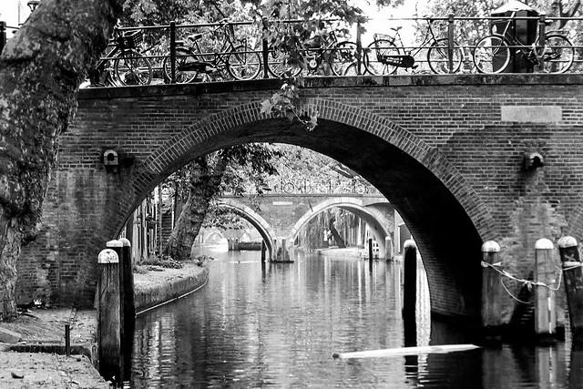 Utrecht: Oudegracht.
