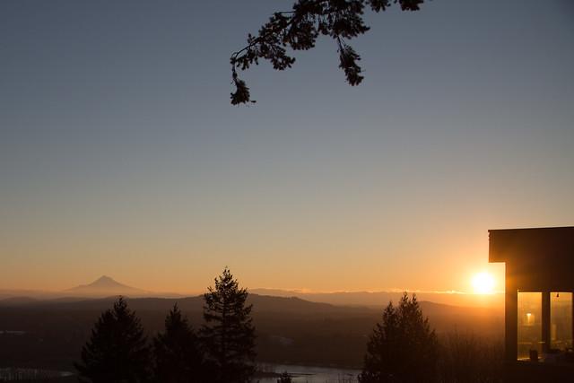 Mount Hood Morning of 1.2.2016