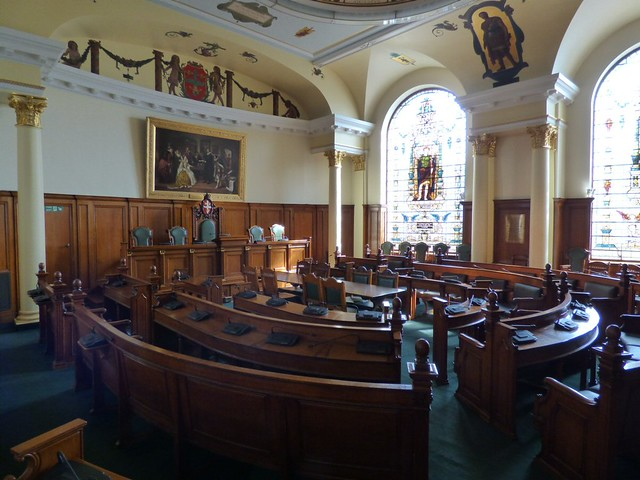Mayor's Chambers at Colchester Town Hall