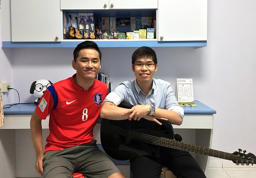 Guitar lessons Singapore Nicholas
