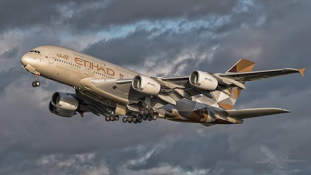 A6-APC | Airbus A380-800 | Etihad | London Heathrow | 29th December 2015