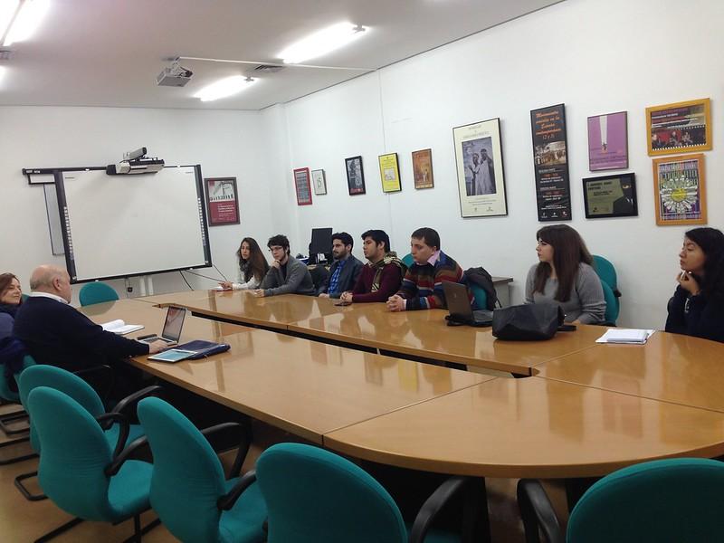 Reunión de alumnos PTS Ciudad Real