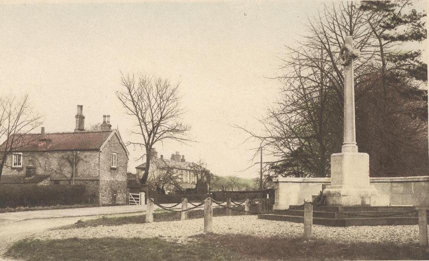 Brough, War Memorial 1920 (archive ref PO-1-22-5)