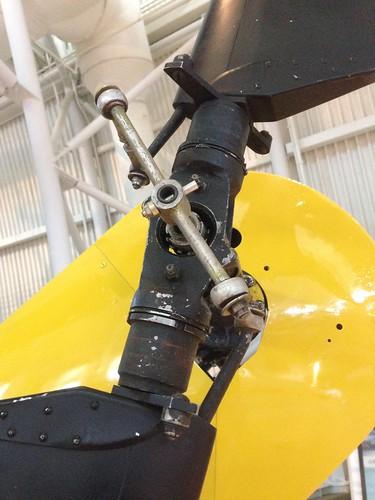 Sikorsky HO5S-1 tail rotor | by jabberwok14