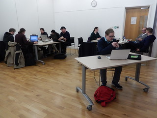 Participants at Wuthering Hacks | by Newcastle Libraries
