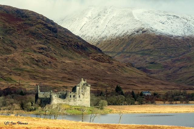 Kilchurn Castle Scotland ...