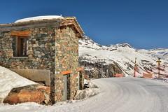 Lyžařská cesta z 2490 m n./m
