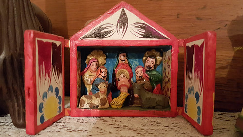 usa us unitedstates unitedstatesofamerica northcarolina mangerscene nativityscene mountholly gastoncounty johnjacob twelfthnightparty karenjacob