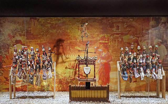 L'exposition Wayang indonésien (MúSIC, musée des instruments de Céret)