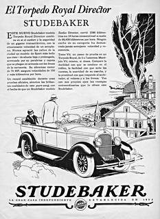 1928 Studebaker Director Royal Torpedo