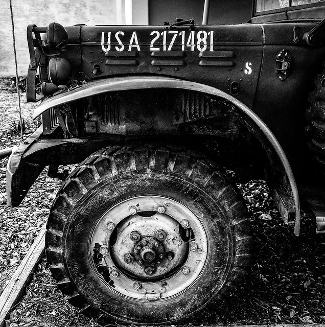 Retired Military Vehicle