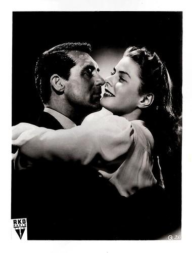 Cary Grant and Ingrid Bergman in Notorious (1946)