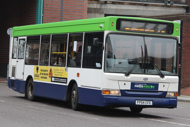 Notts & Derby Transbus Dart SLF/Transbus Pointer 950 (FP04 CFE)
