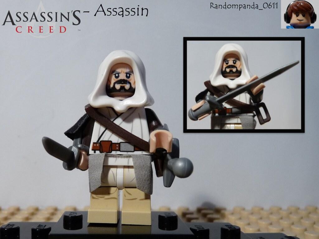 Assassin Assassin From Assassin S Creed Lego Purist Minif Flickr