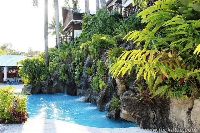 Livingston, Guatemala - Hotel Villa Caribe pool  120