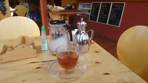 Tea at Café Bar Nerudiano, Ancud, Chiloé, Chile   by blueskylimit