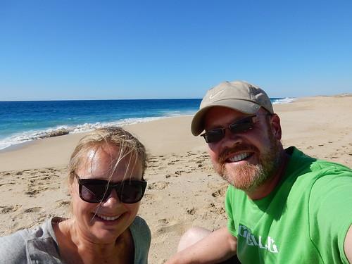 Todos Santos - op het strand