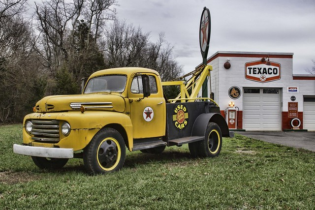 The Old Ford Tow Truck