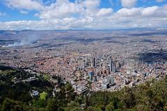 Monserrate View, Bogota
