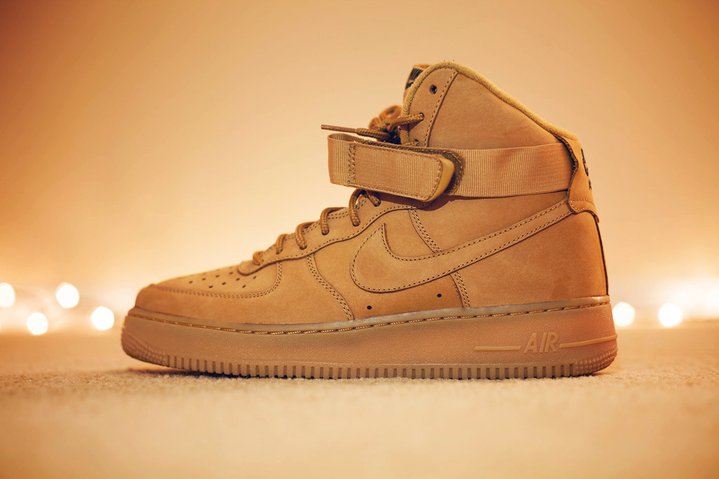 newest collection 388f6 989ea nike air force 1 high 'flax' | Janine Jones | Flickr