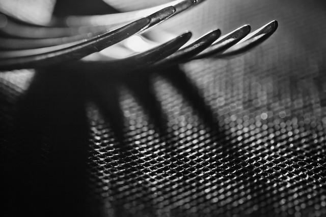 Luci e ombre in cucina - macro