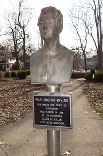 Washington Irving bust