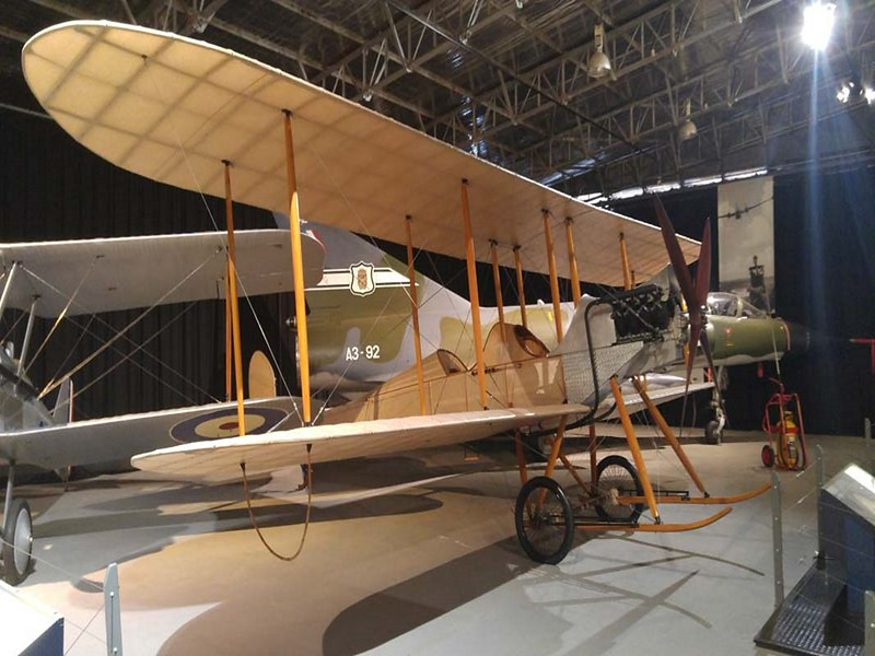 Royal Aircraft Factory BE2A 1