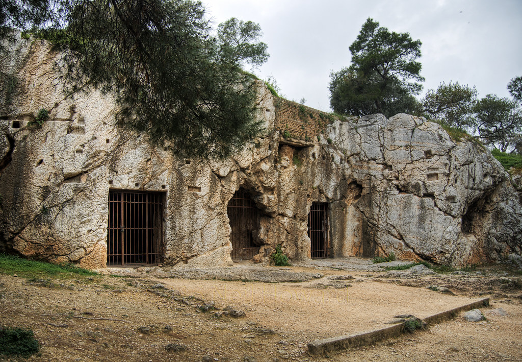 The Prison of Socrates, Athens