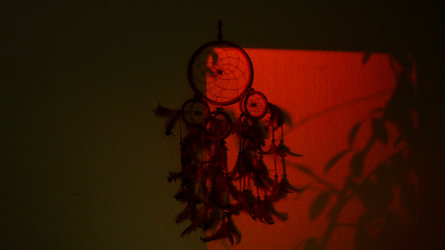 Dreamcatcher On Atmospheric Dusk ❤️
