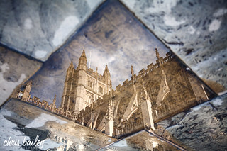 Bath Abbey Courtyard Reflection | by Chris Bailey Photographer
