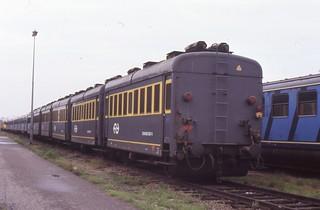 1987-08-26 energiewagens 507+501+502+506+505+504 werkplaats Roosendaal | by Edwin Werner